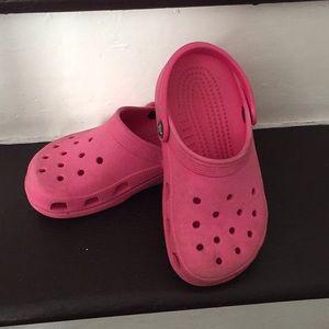 Kids crocs size 2